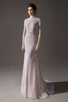 Ersa Atelier 2020 Spring Bridal Collection – The FashionBrides - Ersa Atelier 2020 Spring Bridal Collection – The FashionBrides - Muslim Wedding Gown, Malay Wedding Dress, Muslimah Wedding Dress, Muslim Wedding Dresses, Wedding Dress Trends, Wedding Dress Sleeves, Bridal Dresses, Bridesmaid Dresses, Turtleneck Wedding Dress