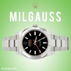Milgauss on sale now  email us sales@randjwatchco.com