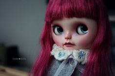 "Roos"" custom Blythe art ooak doll by Jodiedolls"