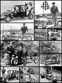 HOT ROD HERMAN Munsters Tv Show, Munsters Car, Cool Car Drawings, Victorian Goth, Famous Monsters, Retro Futuristic, Classic Cars, Classic Tv, Custom Cars