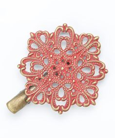 Love this Cherry Inspire Hair Clip by Gleeful Peacock on #zulily! #zulilyfinds
