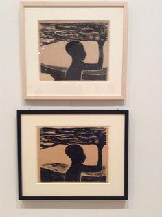 Martin Puryear woodcuts