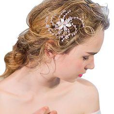Flower Hairstyles, Wedding Hairstyles, Wedding Hair Flowers, Flowers In Hair, Crown, Hair Styles, Jewelry, Fashion, Bridal