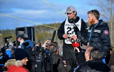 Hugh Neff and his lead dog George Costanza have won the 2016 Yukon Quest. Photographer Josh O'brien was there to capture the action at the finish line in Whitehorse, YT. Here are some shots taken just moments after Neff's win.