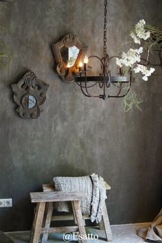 WLS by Hoffz,Jeanet Heesen - Uberraschung Pin - kSresim Pin Front Rooms, Bedroom Accessories, Window Design, Bathroom Wall, Cladding, Candle Sconces, Wall Murals, Wall Lights, New Homes