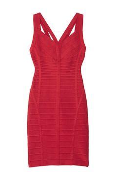 Cutout Bandage Dress by HERVE LEGER @girlmeetsdress Pin to Win your dream dress from girlmeetsdress.com! #wingirlmeetsdress