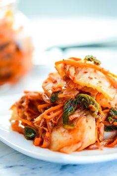 Easy Kimchi Recipe, Korean fermented Cabbage