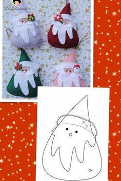 Brinquedos feitos de feltro na árvore de Natal. Discussão sobre LiveInternet - Serviço russo diários on-line