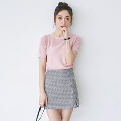 Korean fashion wholesale sweet wild skirt More