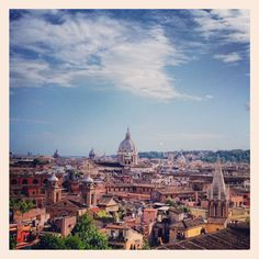 #ROMA , From Villa Borghese #view <3 by Ghita Be. #italy