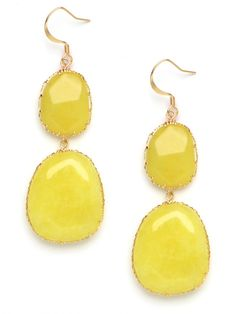 BaubleBar Phospho Boho Drop earrings. I'll eventually own these in every color. Love!