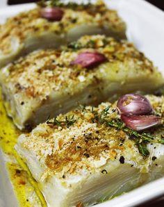 Foto4_F&F Cod Recipes, Fish Recipes, Vegetable Recipes, Seafood Recipes, Chicken Recipes, Cooking Recipes, Healthy Recipes, Fish Dishes, Seafood Dishes