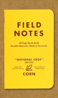 a href=http://fieldnotesbrand.com/crop/Field Notes National Crop Edition - Corn/a