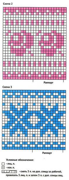 Knitting Patterns Mittens Count pattern rose and star Fair Isle Knitting Patterns, Fair Isle Pattern, Knitting Charts, Lace Knitting, Knitting Socks, Knitting Designs, Knitting Stitches, Knit Patterns, Stitch Patterns