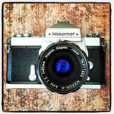 Nikon Nikkormat camera