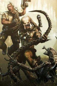 Predator vs Marine vs Alien
