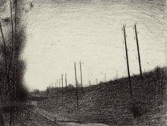 La voie ferrée - Georges Seurat (1881-1882)