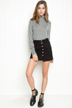 Brandy ♥ Melville | Cassia Turtleneck Sweater - Sweaters - Clothing