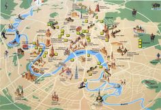moscow russia city map detailed of gives an overview the capital city acts as guide to providing information on tourist places  in