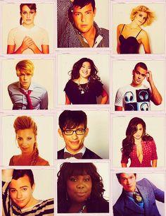 Pics of Glee Cast