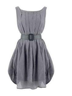 Designer steal: Grey dress!