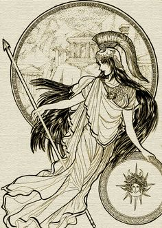 Athena the Goddess