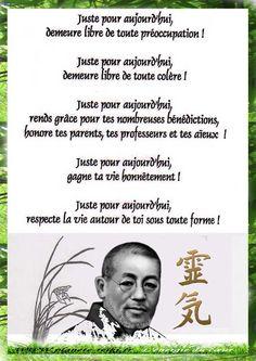 Les 5 idéaux Reiki du Docteur Mikao Usui