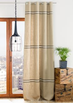 Zasłona na kółkach young loft, 130x260cm - Dekoria #mlodziez #youth #room #pokoj #inspiration #decoration #style #dom