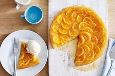 Mandarin tarte tatin