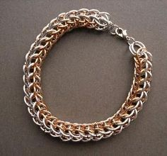 Persian chain maille love it! must try! #ecrafty