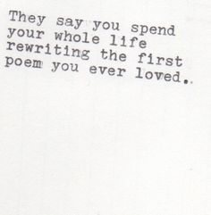 what's your poem?