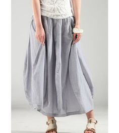 Light Blue Structured Skirt Light Blue Structured Skirt gift for her - $63.00 : Original Fashion in Comfortable Fibers - Organic Cotton, Linen, Silk, Cashmere, Bamboo and More | Zeniche.com
