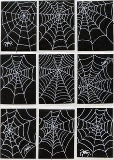 Spiderweb Art Trading Cards