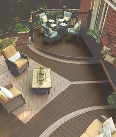 Deck Bench Ideas