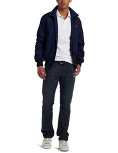 Fred Perry Men's Harrington Jacket, Navy, Medium « Impulse Clothes