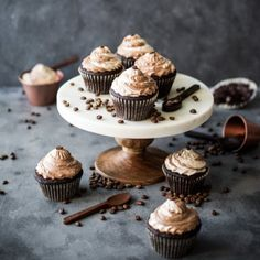 Espresso Swirl Cupcakes-Get your hourly source of sweet...