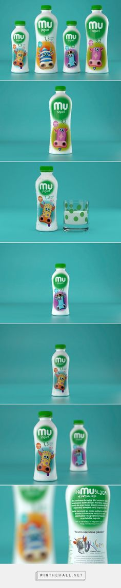 DoMUšljija - Imagination or iMUgination on Packaging of the World by Publicis Slovenia curated by Packaging Diva PD. Limited edition of Dairy products - MU yoghurts for the packaging smile file : )