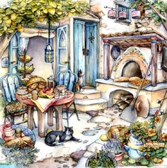Woodland Oven Breakfast by Kim Jacobs