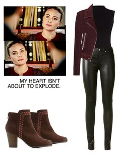 """""""Cami / camille O'connell - the originals"""" by shadyannon ❤ liked on Polyvore featuring Oasis, Yves Saint Laurent, Balenciaga and Qupid"""