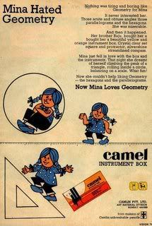 camlin...was the only best thing we could use through out school days
