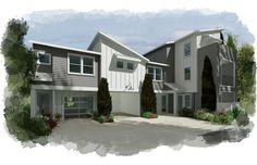 hybridCore Homes #multifamilyhomes #design #architect #home #santarosa