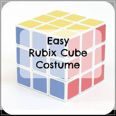 Rubix Cube Costume • Seasonal Craze