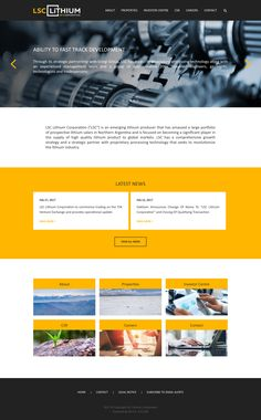 LSC Lithium Corporation - Corporate Responsive + IPO - Q4 Full Design
