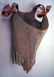 French Plunge corset 1905 - Google Search