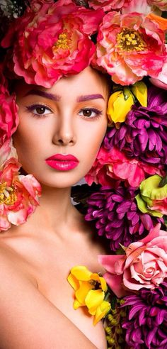 pinterest/momentofbliss/flower-maidens #flowercrown