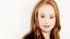 'Inspiring': Madeline Stuart is modelling for New York fashion week. Photo: SUPPLIED