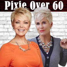 Pixie haircuts and hairstyles for women over 60 Haircuts For Over 60, Over 60 Hairstyles, Older Women Hairstyles, Pixie Hairstyles, Knit Slippers Free Pattern, Hair Color For Women, Short Pixie Haircuts, Hair Colors, My Hair