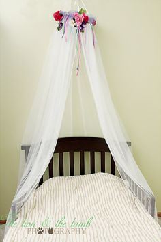 Fairy Tent  Bed Canopy Crown Ring Dress Up Princess SaLe. $34.99, via Etsy.