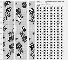 Узоры для вязаных жгутиков-шнуриков 12 | biser.info - всё о бисере и бисерном творчестве