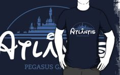 """The Wonderfull City of Atlantis (Stargate)"" T-Shirts & Hoodies by girardin27 